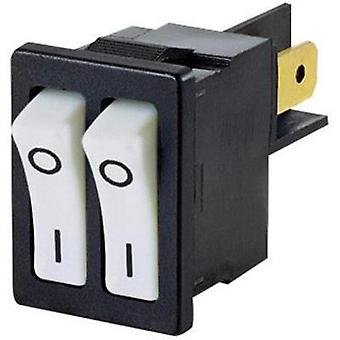 Toggle switch 250 Vac 10 A 2 x Off/On Arcolectric H880TVAAAB latch 1 pc(s)