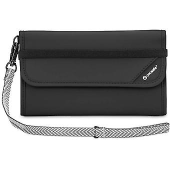 Pacsafe RFIDsafe V250 Anti-theft RFID Blocking Travel Wallet (Black)