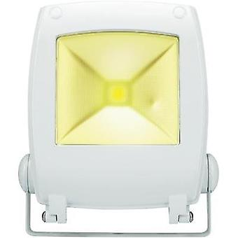 LED outdoor floodlight 10 W Cold white Renkforce SPC10H2 KW White