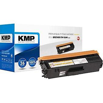 KMP Toner cartridge replaced Brother TN-326M Compatible Magenta 3500 pages B-T63