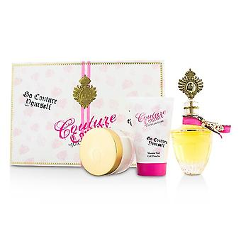Juicy Couture Couture Couture Coffret: Eau De Parfum Spray 100ml / 3,4 oz + Body Creme 100 ml / 3,4 oz + Shower Gel 125 ml / 4.2 oz 3stk