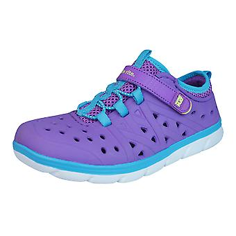Stride Rite Made2Play Phibian Girls Trainers / Sandals / Water Shoes - Purple