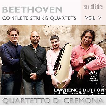 Beethoven, L. / Cremona de Di Quartetto - Beethoven: importación de Estados Unidos 5 cuartetos de cuerda completos [SACD]