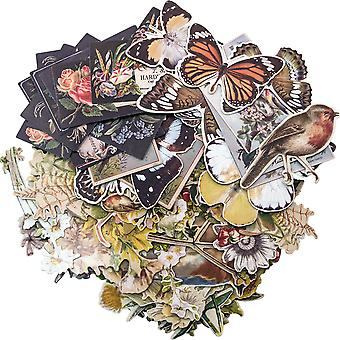 Idea-Ology Layers Die-Cuts 83/Pkg-Botanical .75