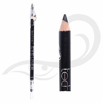 Technic Black Eyeliner Extra Long With Smudger & Sharpener