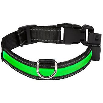 Num'axes USB-Light Green Necklace (Dogs , Walking Accessories , Collars)