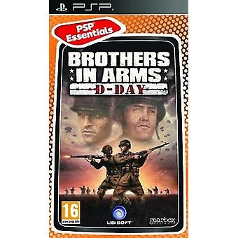 Brothers In Arms d-Day Essentials Edition Sony PSP spielen