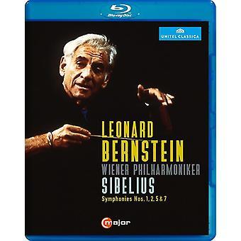 Importación de Estados Unidos Leonard Bernstein dirige Sibelius [Blu-ray]