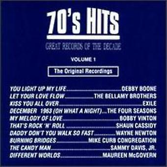 Great Records of the Decade - Great Records of the Decade: Vol. 1-70's Hits [CD] USA import