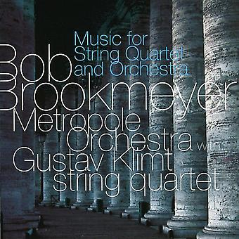 Bob Brookmeyer - Bob Brookmeyer: Music for String Quartet and Orchestra [CD] USA import