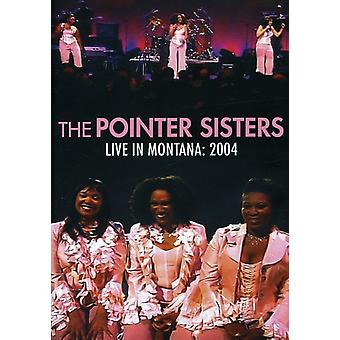Pointer Sisters - Live i Montana 2004 [DVD] USA import