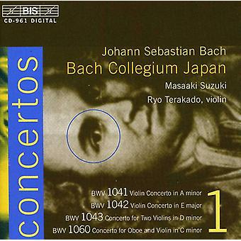 J.S. Bach - Bach : Concertos pour violon, importation USA Vol. 1 [CD]