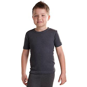 OCTAVE Boys Thermal Underwear Short Sleeve T-Shirt / Vest / Top