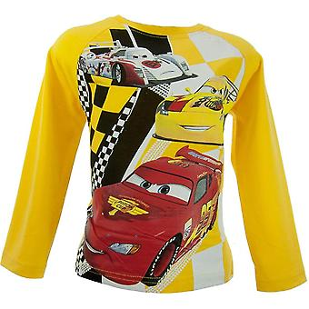Boys Disney Cars Long Sleeve Top