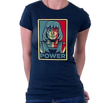 Power He Has It He Man Adam Masters Of The Universe Women's T-Shirt
