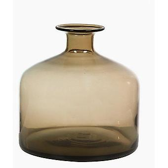 Bigbuy Brown glass vase (Home , Decoration , Vases)
