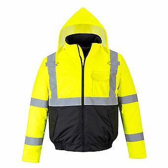 Portwest - Hi-Vis Essential Safety WorkWear Bomber Jacket