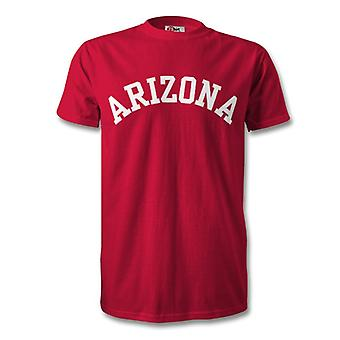 Camiseta de estilo Arizona College