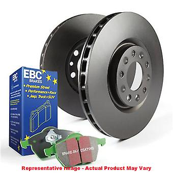 EBC broms Kit - S11 Greenstuff 2000 och RK rotorer S11KF1157 passar: SCION 2005 -