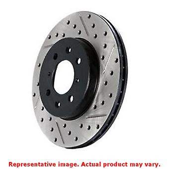 StopTech Brake Rotor - SportStop Drilled & Slotted 127.47018L Front Left Fits: