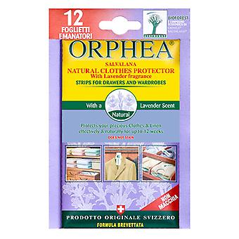 Caraselle 12 Lavender Orphea Moth Strips for Drawers/Wardrobes