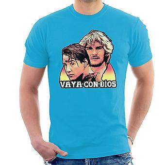 Gefährliche Brandung Hes nicht zurückkommen Vaya Con Dios Herren T-Shirt