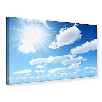 Canvas Print In de hemel