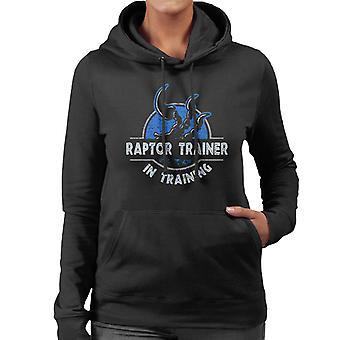 Raptor Trainer In Training Jurassic World Women's Hooded Sweatshirt