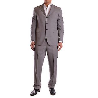 Burberry men's MCBI056101O grey wool suit