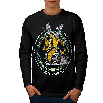 Super Bee auto Sport uomo BlackLong Sleeve t-shirt | Wellcoda