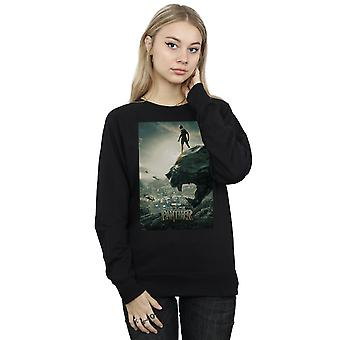 Marvel Frauen Black Panther Poster Sweatshirt