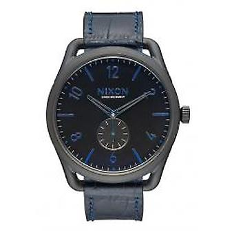 Nixon The C45 Leather Navy Gator (A4652153)
