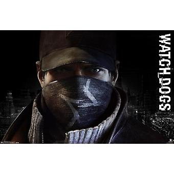 Watch Dogs - profilo Poster Print