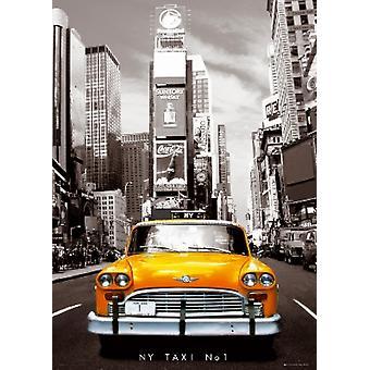 New York City Taxi No 1 Poster Poster afdrukken