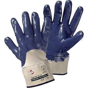 Leipold + Döhle 1451 Cross Nitrile gloves Nitrile rubber, partly covered