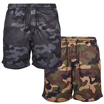 Urban classics - MESH sport fitness summer of army shorts