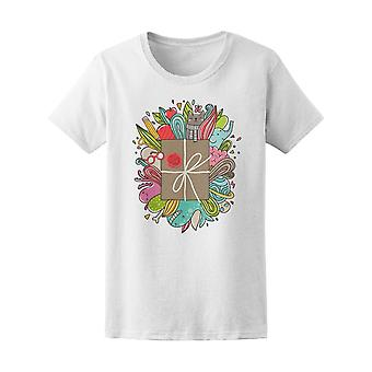 Creative World Literature Book Tee Women's -Image by Shutterstock