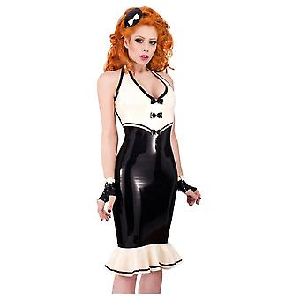 Westward Bound Dita-Dynamite Latex Rubber Dress.