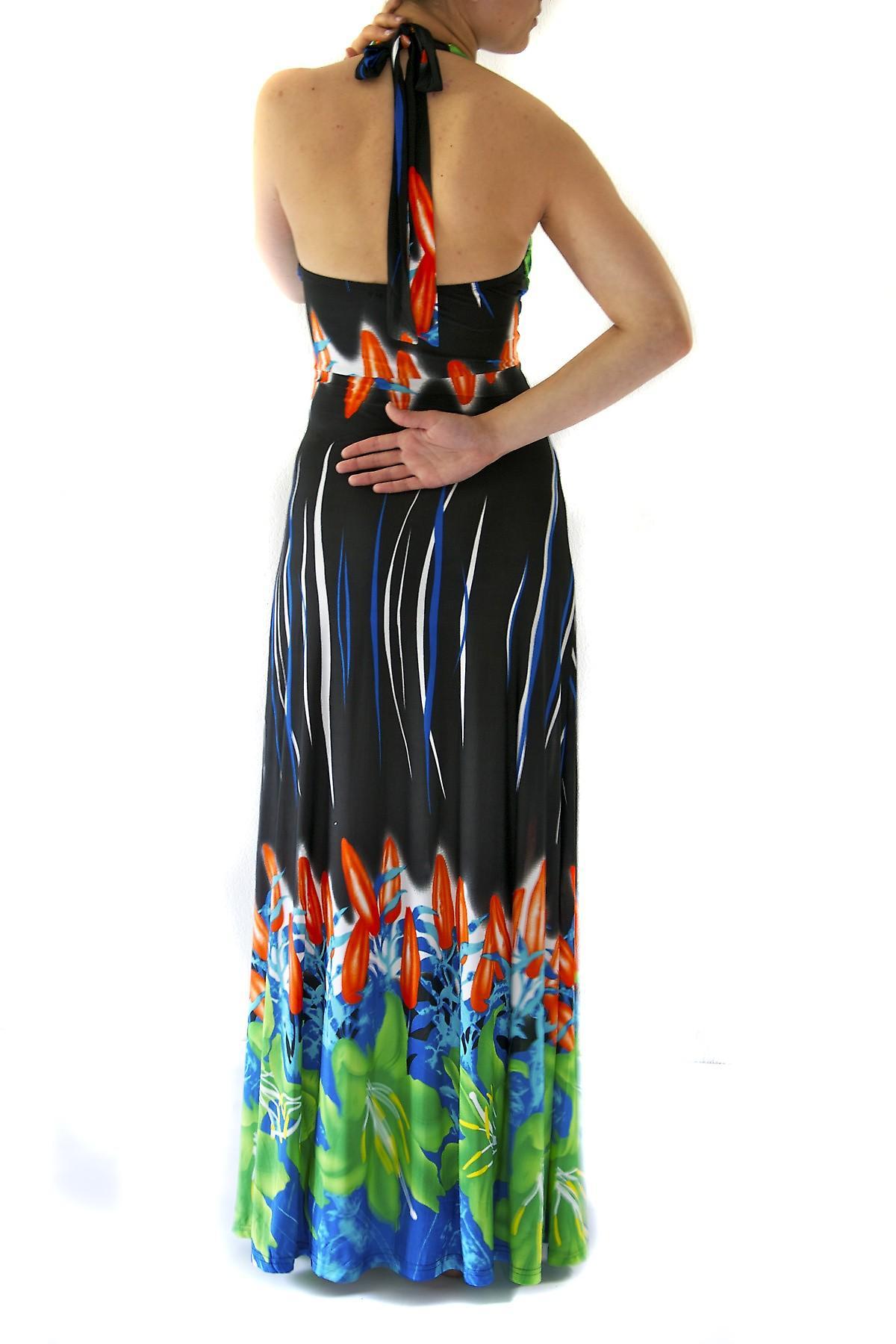 Waooh - Mode - Robe longue Scarlett sertie de pierres