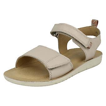 Jeunes filles Startrite Casual sanglé sandales taille britannique de Buzz - Taupe cuir - 13F - UE taille 32 - taille US 14