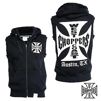 West Coast choppers vest iron cross sleeveless