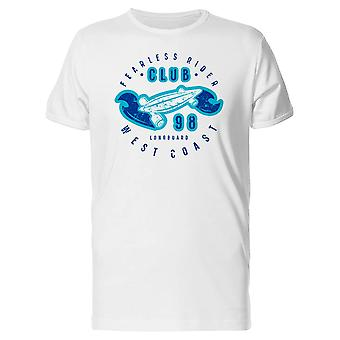 Fearless Rider Club West Coast Tee Men's -Image by Shutterstock