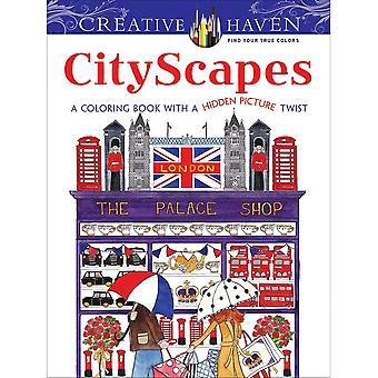 Dover Publications-Creative Haven: CityScapes