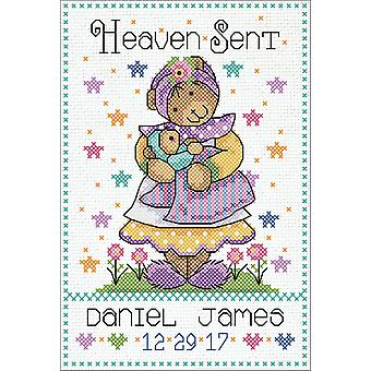 Heaven Sent Counted Cross Stitch Kit-5