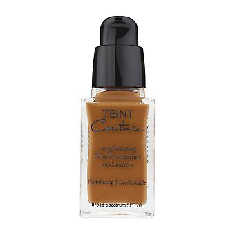 Givenchy Couture Teint prolungati Foundation 'Elegante Sienna' 0.8Oz nuovo In scatola