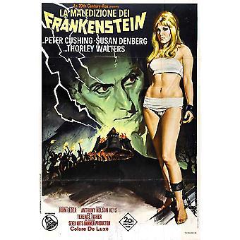 The Curse of Frankenstein Movie Poster (11 x 17)