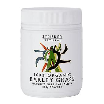 Synergy Natural Organic Barley Grass Powder, 200g