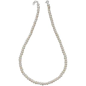 Beginnings Freshwater Pearl Necklace - White/Silver