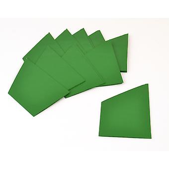 30 Green Paper Hats for DIY Christmas Crackers | DIY Christmas Cracker Crafts