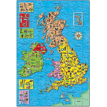 Orchard Toys Great Britain & Ireland Puzzle & Poster
